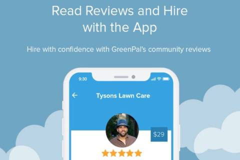 An image of the GreenPal platform (courtesy of GreenPal)