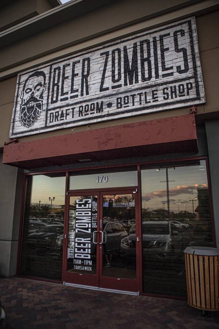 Beer Zombies draft room to open next month at Downtown Summerlin ...