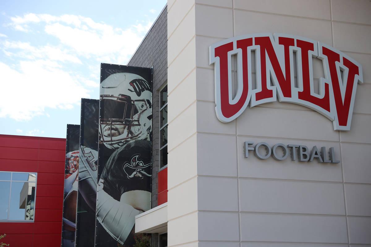 The Fertitta Football Complex on Aug. 11 in Las Vegas. (Erik Verduzco/Las Vegas Review-Journal)