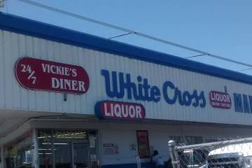 Vickie's Diner in the historic White Cross Drugs store on Las Vegas Boulevard will serve its la ...
