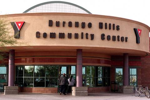 Durango Hills YMCA, 3521 N. Durango Drive, Las Vegas, is one of four YMCAs offering the full-da ...