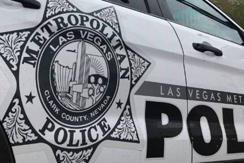 Las Vegas Metropolitan Police Department (Las Vegas Review-Journal/File)