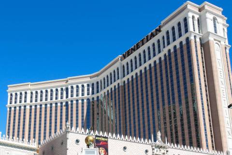 The Venetian (Chris Day/Las Vegas Review-Journal)