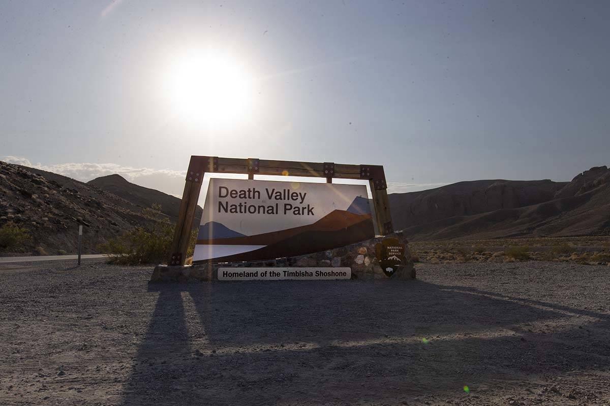 Death Valley National Park reached 127 degrees on Monday, Aug. 17, 2020. (Ellen Schmidt/Las Veg ...