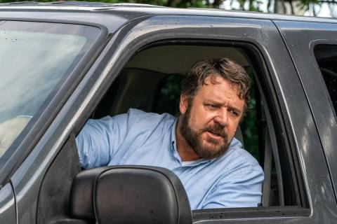 """Russell Crowe stars as """"The Man"""" in the psychological thriller """"Unhinged."""" (Skip Bolden)"""