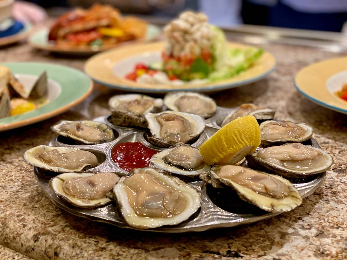 Big Sur Oyster Bar has reopened at South Point. (South Point Hotel Casino & Spa Las Vegas)