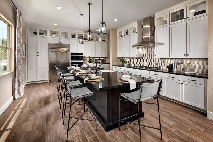 Trilogy in Summerlin showcases its three new floor plans. The age-qualified community is offeri ...