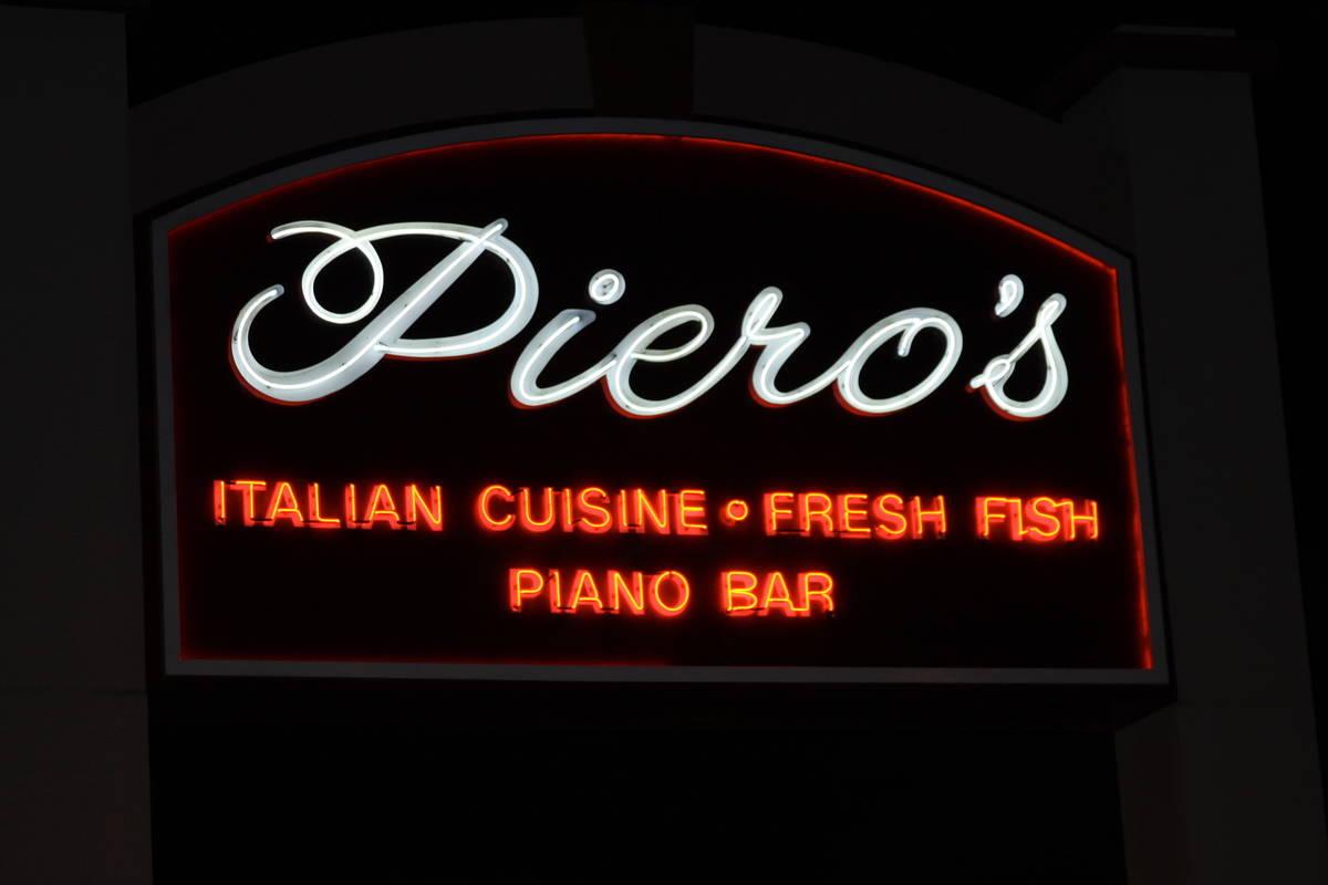 Las Vegas landmark Piero's is preparing to reopen. (Piero's Italian Cuisine)