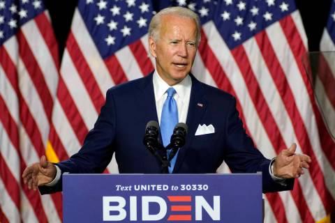 Democratic presidential candidate former Vice President Joe Biden (AP Photo/Carolyn Kaster)