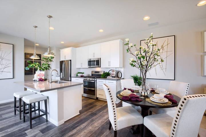 Richmond American Homes Amberock by Richmond American Homes opened in Lake Las Vegas. It's the ...
