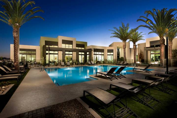 Nearly 30 homes in Summerlin are available for immediate move-in, including Affinity by Taylor ...
