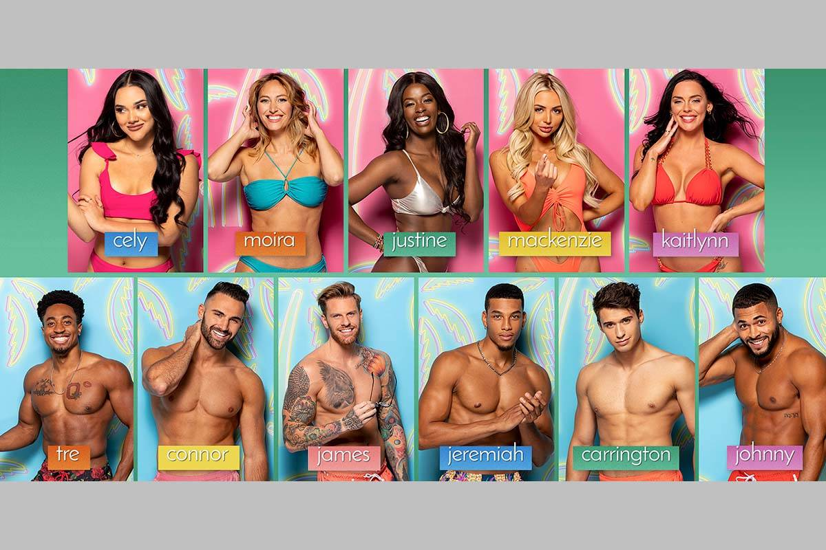 """These 11 cast members will be introduced in the special """"Love Island"""" two-hour premiere airing ..."""