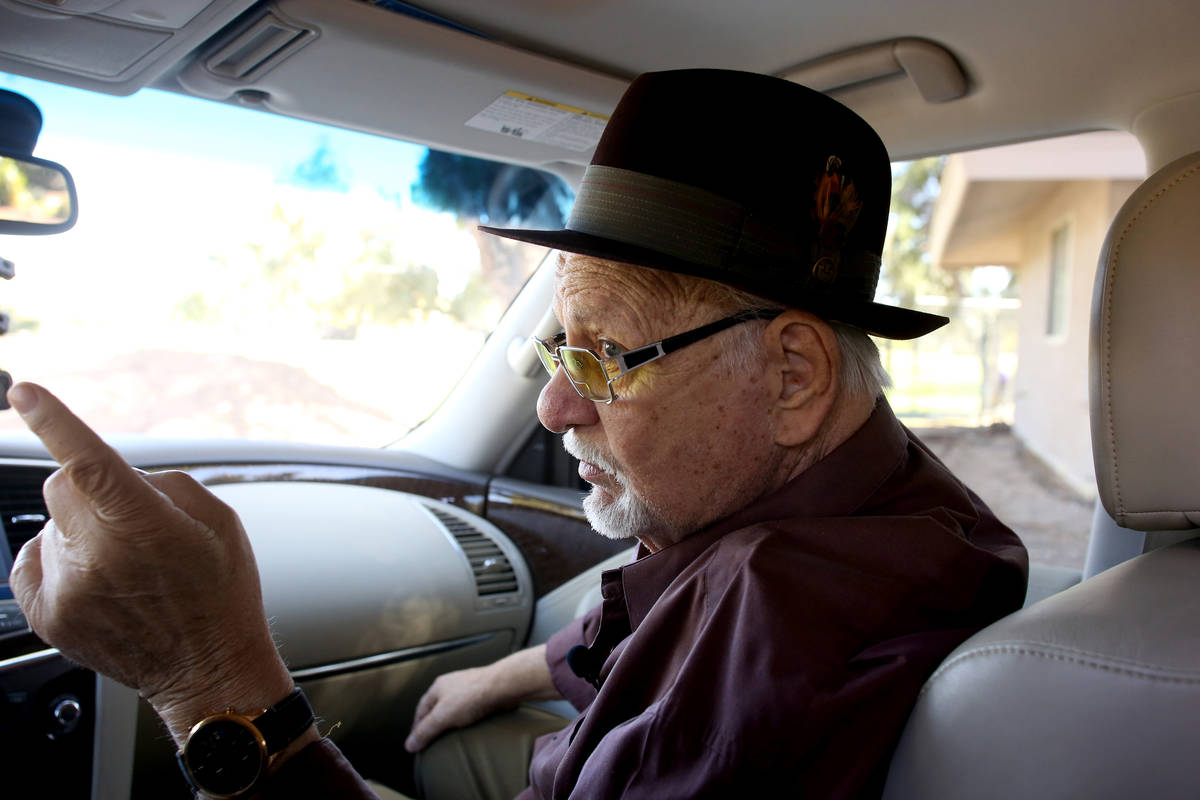 In this Oct. 29, 2019, file photo, Frank Cullotta, former mobster and associate of Anthony Spil ...