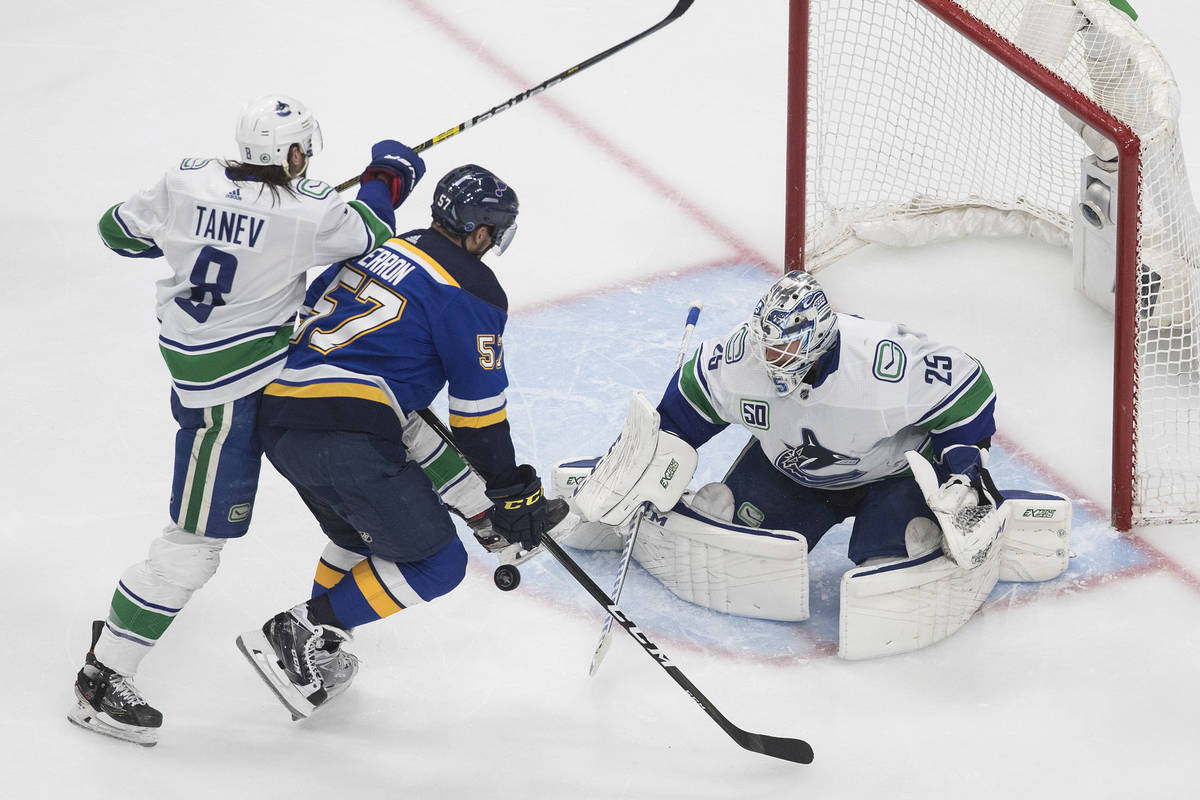 Golden Knights Will Play Either Canucks Or Blues In Semifinals Las Vegas Review Journal