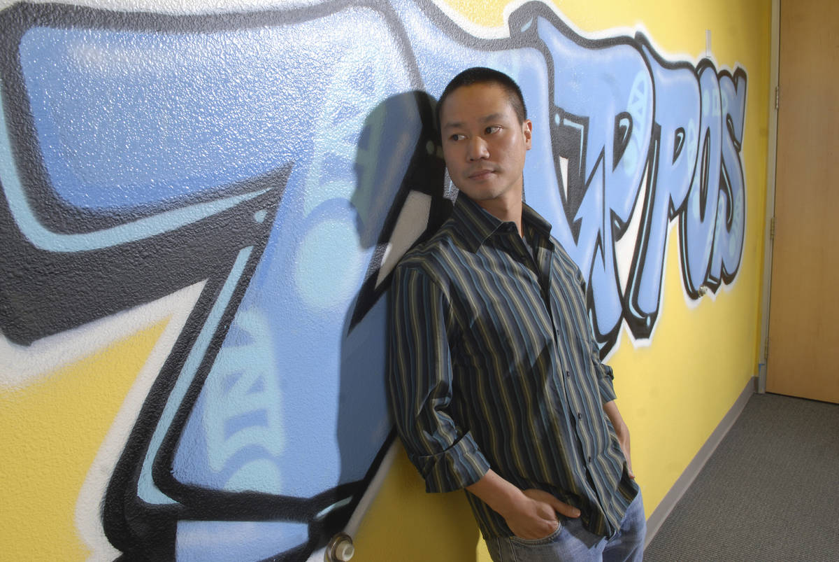 Vegas Young Professionals named Zappos.com CEO Tony Hsieh, 34, its 2008 Mover and Shaker of the ...