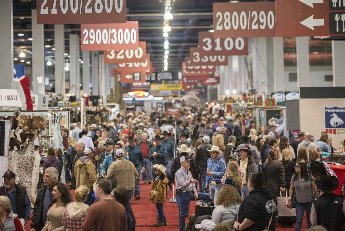 2020 Cowboy Christmas Cowboy Christmas gift show, associated with NFR, canceled for 2020