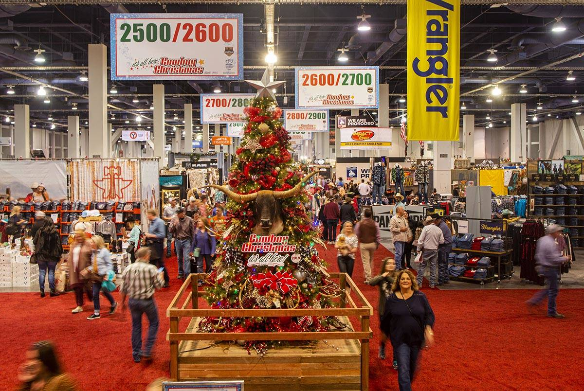 Christmas Show 2020 Cowboy Christmas gift show canceled in 2020 | Las Vegas Review Journal