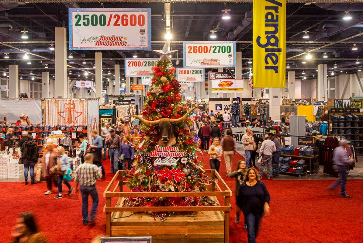 Christmas Trade Shows Fort Worth 2020 Cowboy Christmas gift show canceled in 2020 | Las Vegas Review Journal