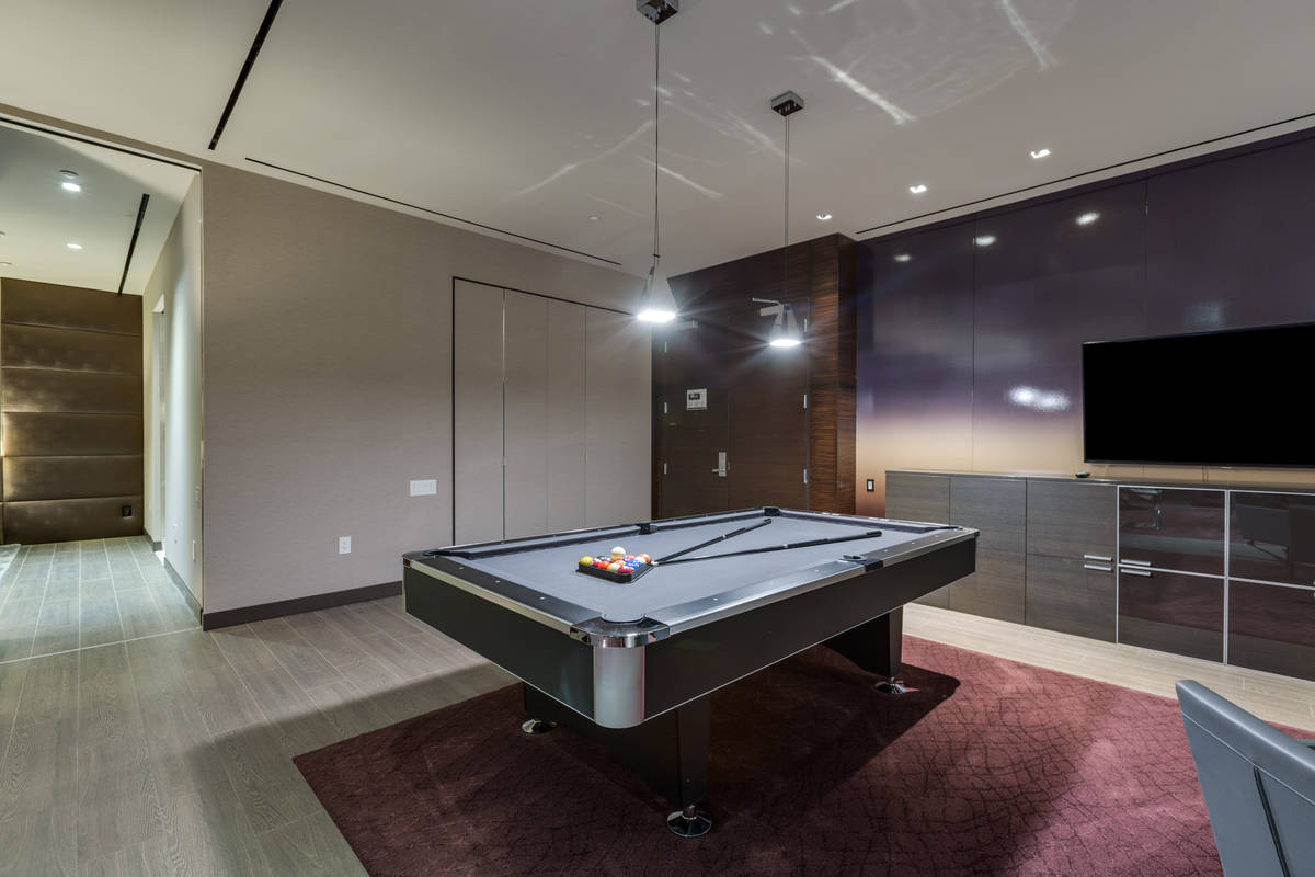 This area is used for a game room. (Luxury Estates International)