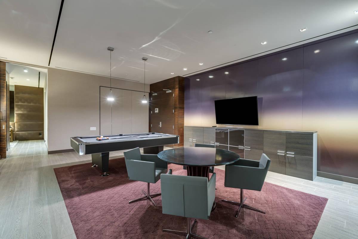 The penthouse has an open floor plan. (Luxury Estates International)