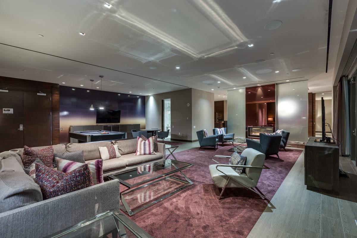 The living room. (Luxury Estates International)
