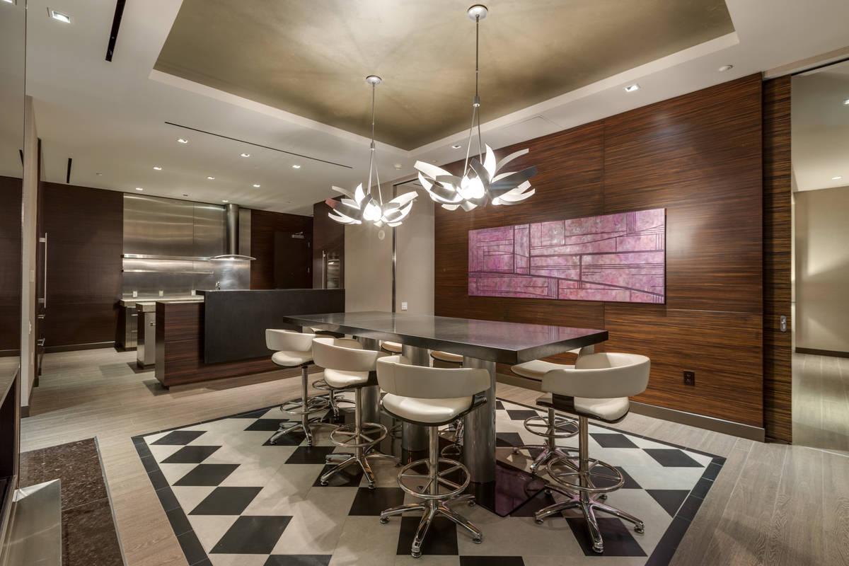 The dining area. (Luxury Estates International)