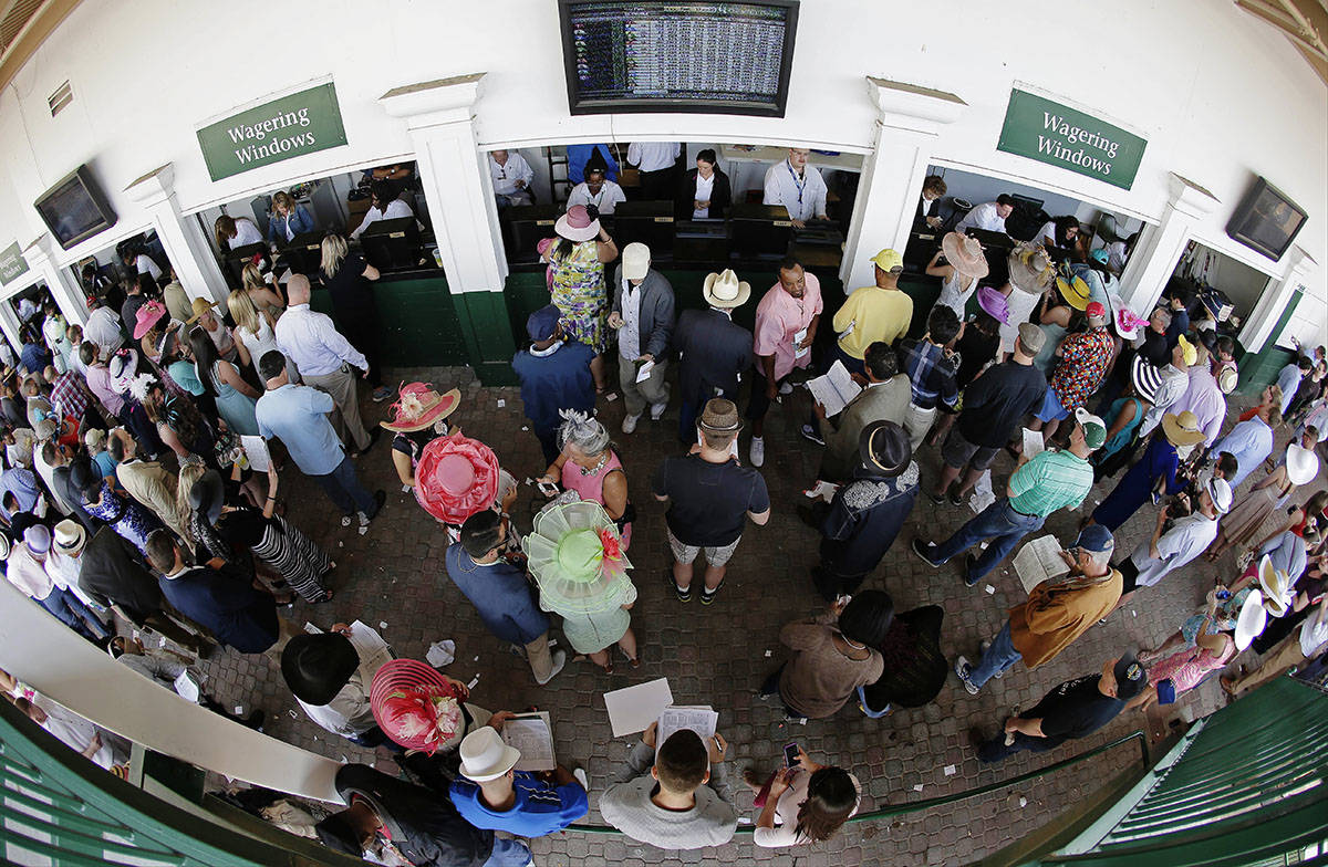 Where to place bets on kentucky derby in ok is it illegal to bet on golf