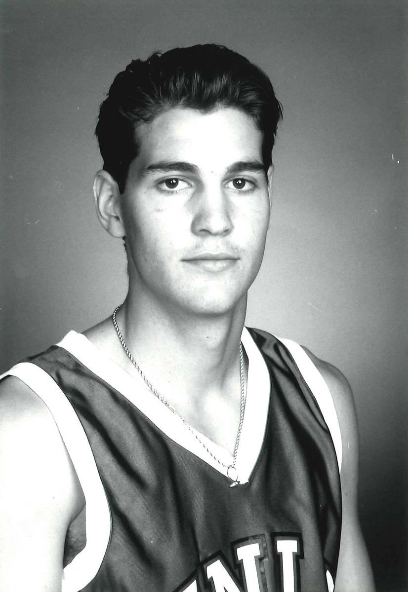 H Waldman in an undated photo at UNLV. Photo courtesy of UNLV athletics.