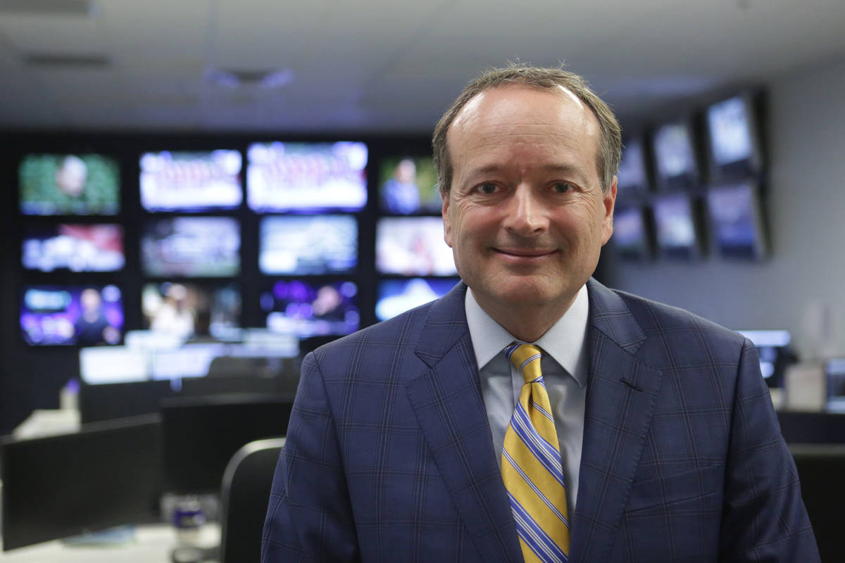 William Hill CEO Joe Asher at the company's Las Vegas corporate offices on Monday, May 1 ...