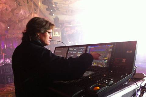 Veteran Las Vegas lighting director Vickie Claiborne has helped organize the WE/EC Las Vegas en ...