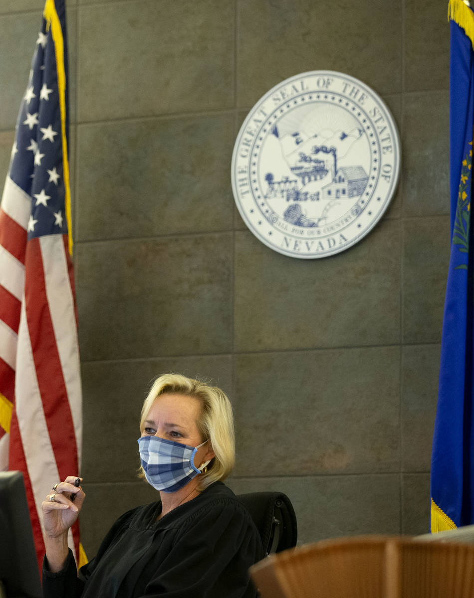 Judge Ann Zimmerman presides over a preliminary hearing for Adolfo Orozco, owner of the Alpine ...