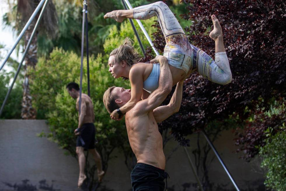 """Holland Lohse rehearsing with Ekaterina Alexandrovna, says the virus affected his industry """"in ..."""