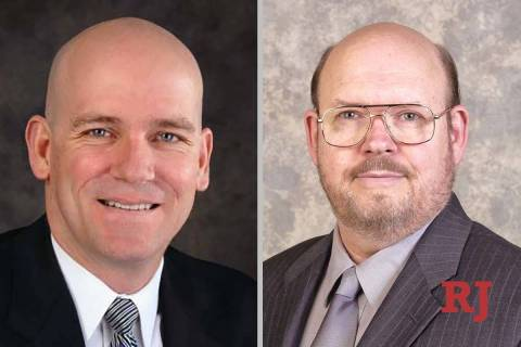 Charles Hoskin, left, and Thomas Kurtz, candidates for Family Court Department E (Facebook)