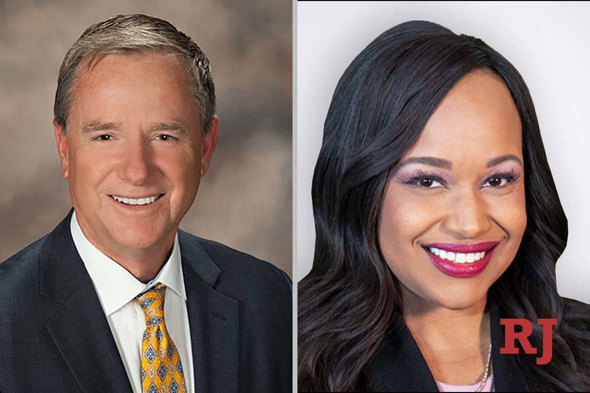 """J. Scott MacDonald and Dedree """"Dee"""" Butler, candidates for Family Court Dept. J. (Courtesy photos)"""