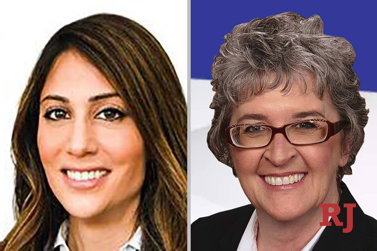 Sara Dayani, left, and Mary Perry, candidates for Family Court Dept. P (Courtesy photos)