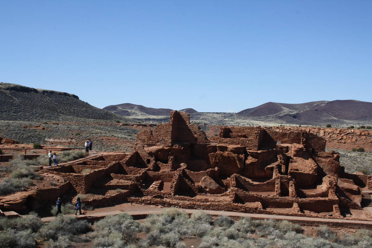 Wupatki Pueblo is one of the highlights for visitors at Wupatki National Monument in Arizona. ( ...