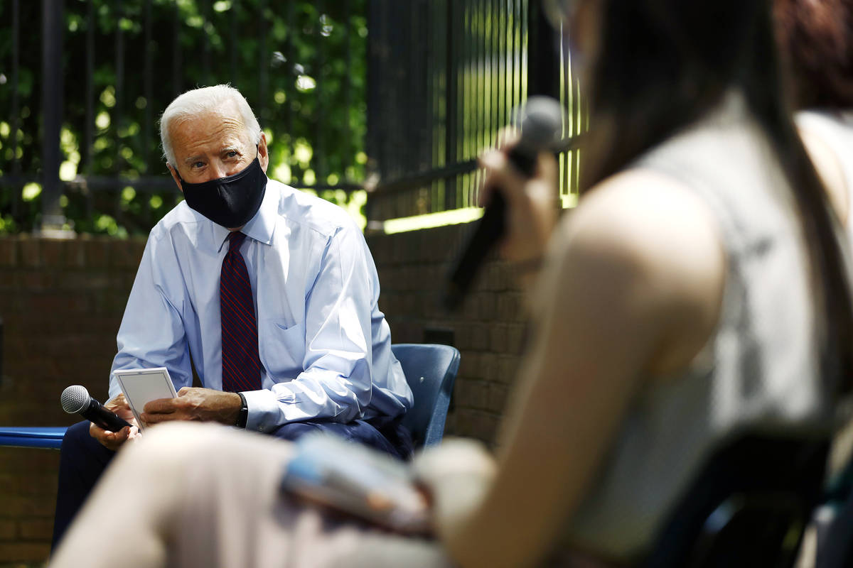 Democratic presidential candidate, former Vice President Joe Biden. (AP Photo/Matt Slocum)