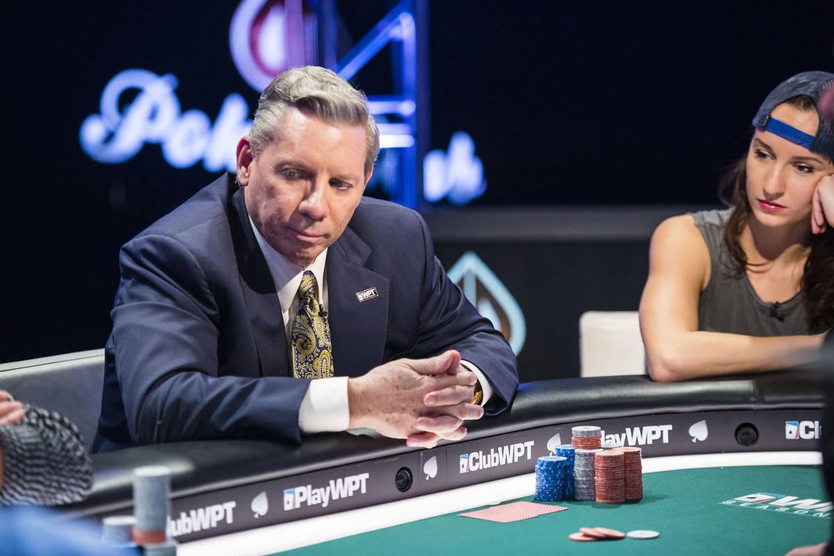 Mike Sexton is seen in an undated file photo. (World Poker Tour)
