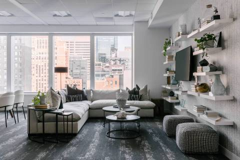 Eneia White of Eneia White Interiors in New York City said design has become more demanding bec ...