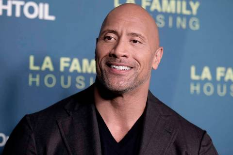 Dwayne Johnson, seen in 2018. (Richard Shotwell/Invision/AP)