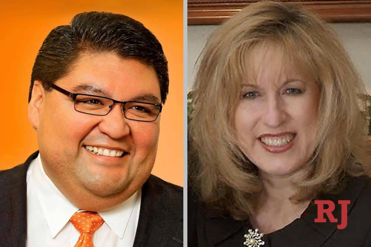Romeo Perez and Michele Mercer, candidates for Family Court Dept. Z (Romeo Perez/Michele Mercer)