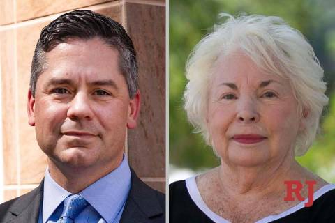 SteveYeager and BarbaraAltman, candidates for Nevada Assembly District 9 (Las Vegas ...