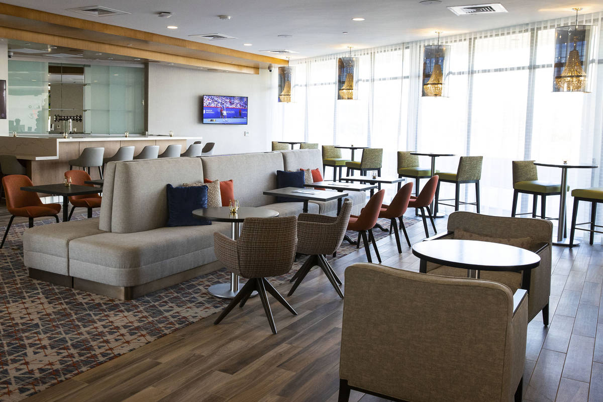 Color-Up restaurant at a newly built, dual branded Hampton Inn & Suites and Home2 Suites ho ...