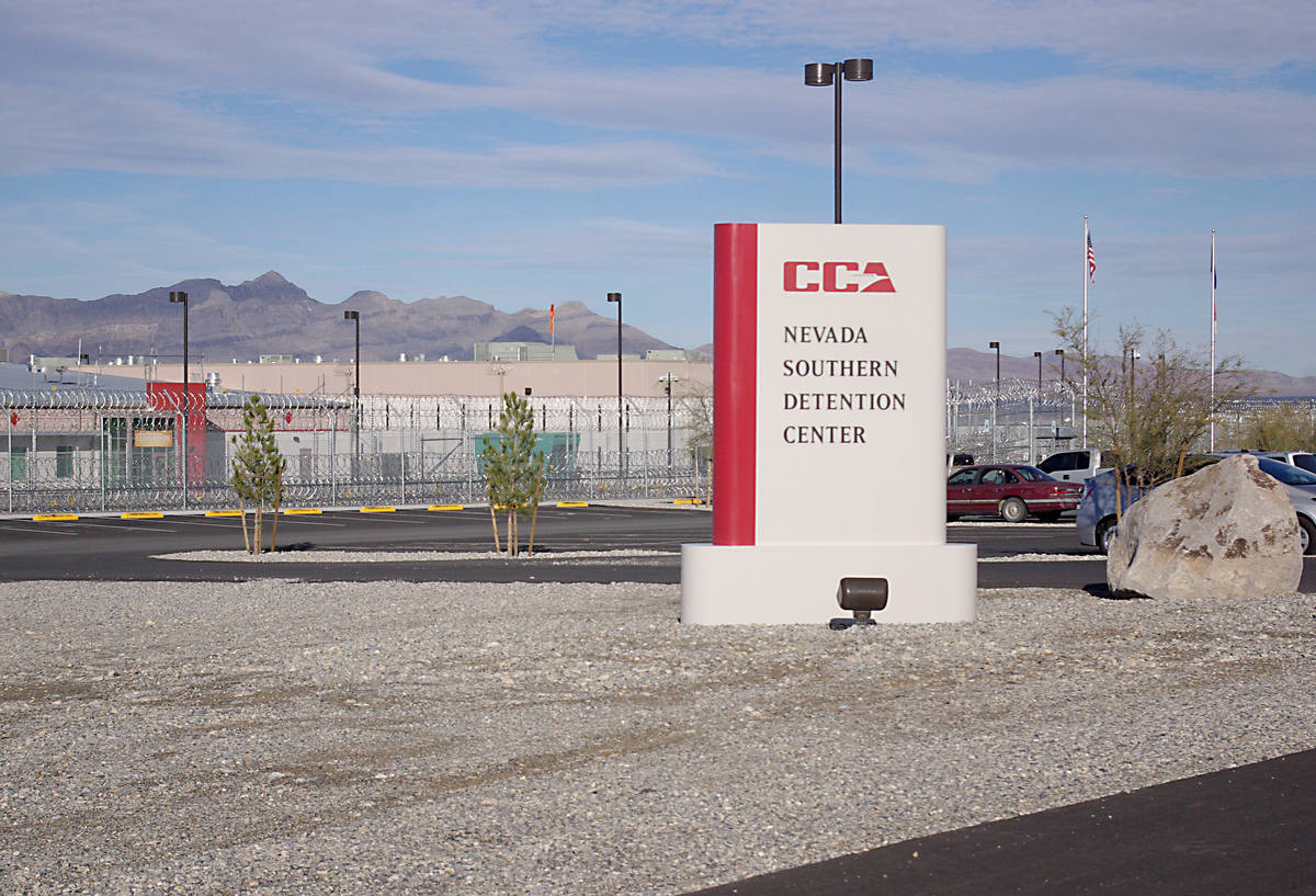 Southern Nevada Detention Center (File photo)