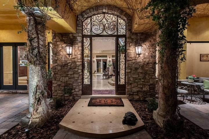 The home has luxury imported materials from Italy. It was built in 2005 by Philip Morgan with i ...