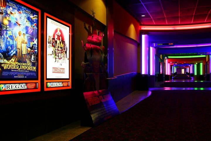 The Regal Fiesta Henderson will reopen at 5 p.m. Friday, Sept. 4, 2020, after being closed for ...