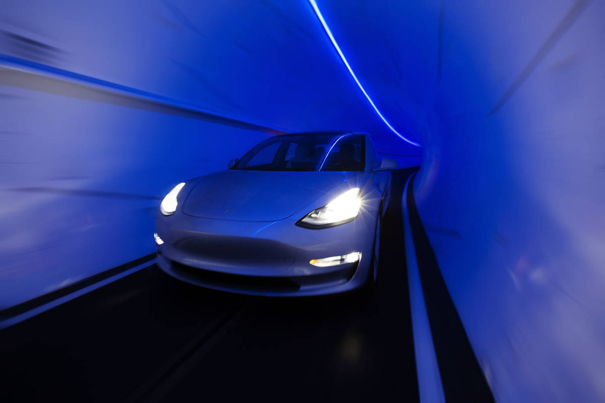 Plans for the Boring Company's stations and route extensions from the Las Vegas Convention Ce ...