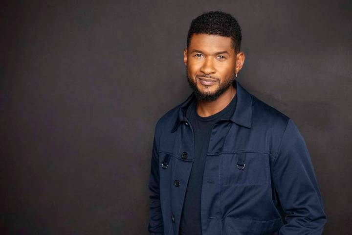 Usher announces residency at The Colosseum at Caesars Palace beginning in July. (Piper Ferguson)