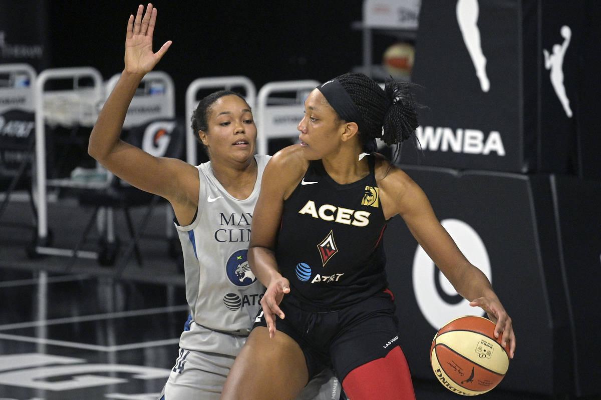Las Vegas Aces' A'ja Wilson makes strong case for WNBA MVP award   Las Vegas Review-Journal