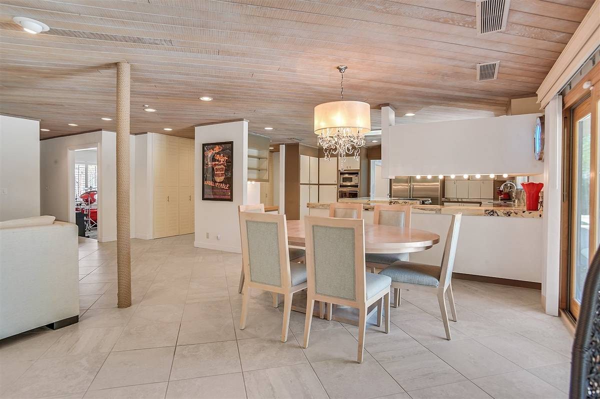 There is an informal dining area off the kitchen. (Nartey Wilner Group)